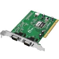 SIIG CyberSerial Dual PCI - Serial adapter - PCI - RS-232 x (JJ-P02012-S7)