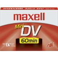 Maxell 298017 MiniDV Videocassette