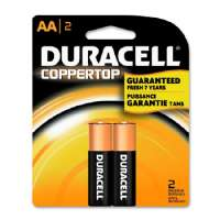 DURA MN1500B2Z Coppertop Alkaline Battery AA 2pk