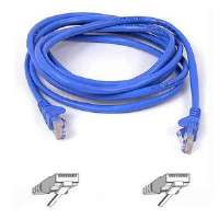 8FT CAT5E BLUE PATCH CORD ROHS