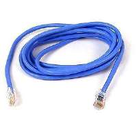 25FT CAT5E BLUE PATCH CORD ROHS 