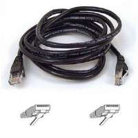 10FT CAT5E BLACK PATCH CORDROHS