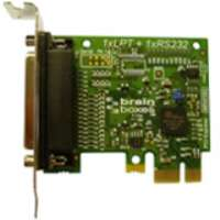 Brainboxes PX-157 1-port PCI Express Parallel Adapter