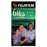Fujifilm HQ T-120 VHS Videocassette
