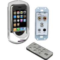 Pyle Ipod/Iphone In-Wall Mounted Audio/Video Docking Center w/Wireless Remote