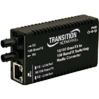 Transition Networks Mini M/E-PSW-FX-02 Media Converter