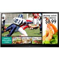 LG EzSign TV 55LS460E Digital Signage Display