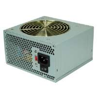 Coolmax V-500 ATX 12V v2.01 Power Supply - 500W,   Fan, Output Short Circuit, Output Over Voltage, 100000 MTBF Hour - 14621
