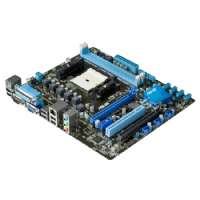 Asus F1A55-M LX PLUS R2.0 Desktop Motherboard - AMD A55 Chipset - Socket FM1