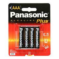 Panasonic AAA-Size General Purpose Battery Pack - Alkaline - AM4PA4B