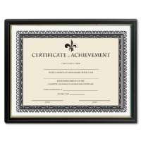 LORELL Certificate of Achievement, 9-1/2x12, Black