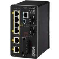 Cisco Industrial Ethernet 2000 Series - Switch - managed - 6 x 10/100 - DIN rail (IE-2000-4T-L)