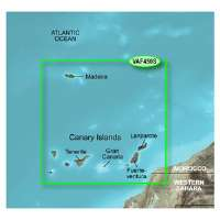 Garmin BlueChart g2 Vision: Madeira and Canary Islands Digital Map