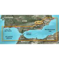 Garmin BlueChart g2 Vision: Alicante to Cabo de Sao Vicente Digital Map