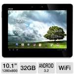 ASUS Eee Pad Transformer Prime TF201-B1-GR Tablet - NVIDIA Tegra 3 Processor, 1GB DDR2, 32GB Flash, 10.1&quot; Multi-Touch, Android 3.2 Honeycomb, 802.11b/g/n Wi-Fi, Gray (Refurbished)