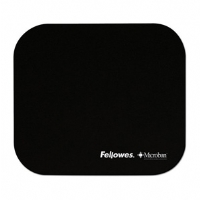 MICROBAN BLACK MOUSEPAD