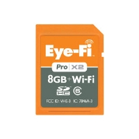 Eye-FI EYEFI8PC Pro X2 Wireless SDHC Memory Card - 8GB