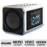 FOSCAM FHC51 CLOCK RADIO HIDDEN VIDEO CAMERA DVR