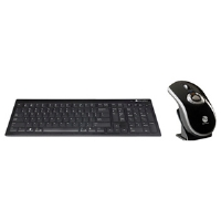 Gyration Air Mouse Elite with Low-Profile Keyboard (GYM5600LKNA)