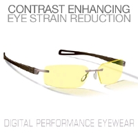 Gunnar Edge Espresso Digital Performance Eyewear