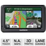"Garmin n�vi 2495LMT - GPS receiver - automotive - 4.3"" - widescreen"