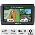 "Garmin n�vi� 2475LT 010-01001-00 Automotive GPS - 4.3"" diag, North America Maps, Lifetime Traffic, Bluetooth, Speed Limit Indicator, Photo Navigation, Custom POI's, Lane Assist"