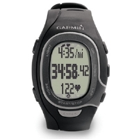 Garmin FR60 Men's Personal Trainer Sports Watch - Heart Rate Monitor, Customizable Screen, Black