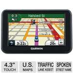 "Garmin Nuvi 40LM Automotive GPS - 4.3"" Touchscreen, Voice Prompts, Lane Assist, Route Avoidance, ecoRoute, United States Maps (RB-010-N0990-21)"