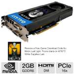 This video card is packed with 2GB of DDR5 video memory, offering stellar video quality and graphics processing.