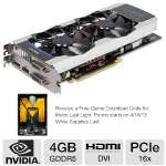 This video card is equipped with an NVIDIA GeForce GTX 680 and 4GB of GDDR5 Video RAM to unleash superb graphics at your PC.
