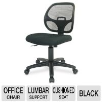 Interion I92-40878 Mesh Office Chair -Black