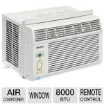 Midea 246536 Window Air Conditioner - 8000 BTU, Remote Control