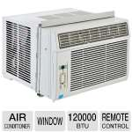 Midea 246536 Window Air Conditioner - 12000 BTU, Remote Control