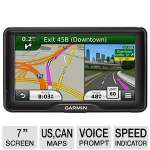 "Garmin RV 760LMT - 7"" Widescreen, Bluetooth, Lifetime Traffic Updates, Junction View, Lane Assist, Speed Limit Indicator , Spoken Street Names - 010-01168-00"