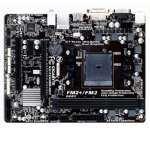 Gigabyte MicroATX Motherboard AMD A58 Chipset -FM2+ Socket,1.2 x DDR3 DIMM sockets, Dual Channel Memory, Integrated Graphic Processor, Realtek GbE LAN Chip - GA-F2A58M-HD2