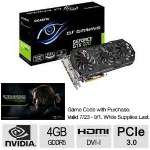 GIGABYTE GeForce GTX 970 GV-N970G1 GAMING-4GD 4GB 256-Bit GDDR5 PCI Express 3.0 SLI Support Video Card