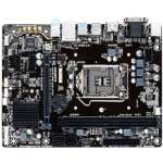 Gigabyte Ultra Durable � GA-H110M Motherboard - Glass Fabric PCB, Intel H110 Express Chipset,  LGA1151 Socket, Up to 32GB DDR4 Memory Support, 8-CH Audio, HDMI 1.4, Realtek� GbE LAN - GA-H110M-S2H GSM