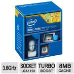 Intel Core i7-4790 Processor - 8MB Smart Cache, 3.6GHz, 22nm - BX80646I74790