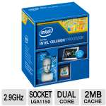 Intel� Celeron� G1850 2 Core 2.9 GHz Processor