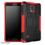 roocase Trak Armor Case - RC-NOTE4-HYB-D8-RD