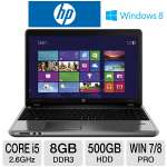 "HP ProBook 4540s Notebook PC - 3rd generation Intel Core i5-3320M 2.6GHz, 8GB DDR3, 500GB HDD, DVDRW, 1GB AMD Radeon HD 7650M, 15.6"" Display, Windows 7 Pro 64-bit / Windows 8 Pro 64-bit (C9K41UT)"