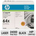 HP LaserJet CC364XD Black Toner Cartridge Dual Pack