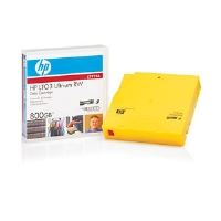 HP C7973A Ultrium Rewritable Data Cartridge - 800GB, LTO-3, 120Mbps, Gold