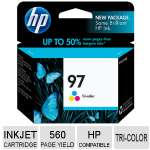 HP 97 C9363WN#140 Tri-Color Ink Cartridge