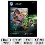 HP Everyday Semi-gloss Photo Paper-Letter