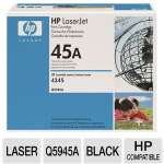 HP 45A Q5945A Black LaserJet Cartridge - Approx. 18,000 Pages, Smart Technology