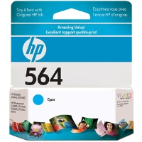 HP CB318WC#140 564 Cyan Ink Cartridge