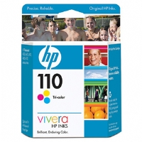 HP 110 Color Ink Cartridge (CB304AC)