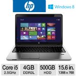 HP ProBook Notebook - Core i5, 4GB, 15.6""