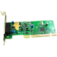 Hiro H50158 56K V.92 Low Profile PCI Data Fax Modem, RoHS - Caller ID, Compatible with Windows 8